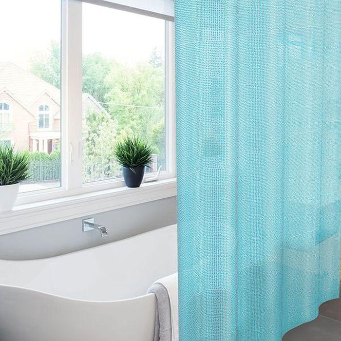 Штора для ванной Meiwa Pebbles, цвет: синий, 182 х 182 см5912Эксклюзивная штора для ванной комнаты Meiwa с эффектом 3D выполнена из высококачественного ПВХ, прочного и пластичного материала, который не крошится, не выцветает и не тускнеет со временем. Влагонепроницаемая штора имеет высокую плотность, толщина полотна 0,45 мм, вес изделия 1,33 кг. Верхний край шторы усилен двойным подворотом полотна, люверсы для колец выполнены из пластика, это исключает появление ржавчины в помещении с повышенной влажностью, что часто встречается при использовании металлических деталей. Благодаря своей плотности и весу штора не подниматься от потоков воздуха, создаваемых напором воды. Трехмерное изображение позволит зрительно расширить пространство ванной комнаты. Изделие допускается мыть вручную при температуре 40 С.