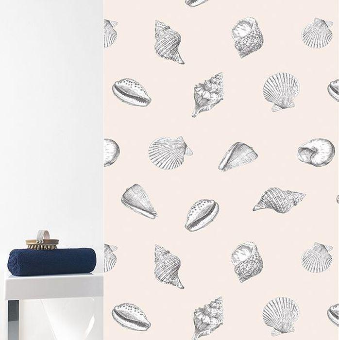 Штора для ванной Bacchetta Ostras, цвет: бежевый, 180 х 200 см6024Текстильная штора для ванной в стильном дизайне от производителя с мировым именем Bacchetta. Выполнена штора из высококачественного полиэстера с водоотталкивающей и антибактериальной пропиткой, которая препятствует появлению на шторе плесени и других вредных грибков. Штора оснащена утяжелителем, который вшит по нижнему краю, и не позволяет шторе подниматься от потоков воздуха, создаваемых напором воды. Верхний край шторы усилен двойным подворотом ткани, люверсы для колец выполнены из пластика, это исключает появление ржавчины в помещение с повышенной влажностью, что часто встречается при использовании металлических деталей. Технология производства изделий отвечает новейшим европейским стандартам. Полотна отличаются высочайшими качественными характеристиками: высокими показателями износостойкости, цветостойкости и цветопередачи, прочности ткани на разрыв. Штора со временем не выцветает, а рисунок не вымывается. В комплекте со шторой предусмотрено 12 пластиковых колец. Допускается деликатная стирка при температуре не более 30 С, штора быстро сохнет.