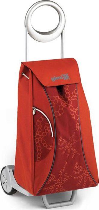 Сумка-тележка Gimi Market, 48 л1078Многофункциональная, удобная и практичная хозяйственная сумка-тележка. Каркас тележки изготовлен из стали, сумка выполнена из прочного полиэстера, с водостойкой обработкой. Сумка оснащена карманом на молнии. Каркас имеет stop-механизм с блокиратором сложенных колес, дополнен подставкой для зонта. Без сумки изделие превращается в универсальную тележку с фиксаторами для хозяйственных ящиков. Колеса средней величины делают ход тележки более плавным и менее восприимчивым к неровным поверхностям. Емкость сумки - 48 литров. Грузоподъемность - 30 кг.