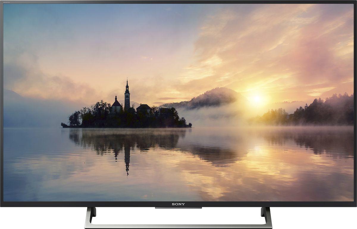 Sony KD-43XE7096, Black телевизор4548736053175Телевизор Sony KD-43XE7096 с поддержкой расширенного динамического диапазона (HDR) перевернет ваши представления о просмотре любимого контента. В сочетании с разрешением 4K Ultra HD поддержка расширенного динамического диапазона (HDR) при просмотре видео обеспечиваeт невероятное богатство деталей, естественную цветопередачу и контрастность, а диапазон яркости подсветки во много раз превосходит возможности телевизоров предшествующих моделей. В результате изображение получается более реалистичным с ослепительно ярким белым и глубоким черным цветом.Откройте для себя волнующий мир фантастической четкости изображения. Благодаря мощному процессору обработки изображения 4K каждый пиксель подвергается тщательной обработке и выполняется улучшение качества изображения. Отдельные области каждого кадра подвергаются тщательному анализу и сопоставляются со специальной базой данных, после чего выполняется улучшение качества отображения текстур, контрастности, цветопередачи и контуров независимо друг от друга. В результате удается добиться невероятной реалистичности деталей, что бы вы ни смотрели. Реалистичность звука наравне с реалистичностью изображения. Технология ClearAudio+ позволяет оптимизировать звук телевизора для еще более полного погружения в происходящее на экране. Наслаждайтесь музыкой, диалогами и звуковыми эффектами в еще лучшем качестве, что бы вы ни смотрели.Включить YouTube стало проще. Наслаждайтесь вашим любимым контентом. YouTube™ на этом телевизоре мы сделали максимально быстрым, а на пульт дистанционного управления добавили отдельную кнопку для его запуска, чтобы вам было еще проще начать смотреть интересные видео.Оцените плавность и высокую степень детализации даже в самых динамичных сценах с быстрой сменой планов благодаря Motionflow XR. Эта инновационная технология создает и добавляет дополнительные кадры между исходными кадрами видео. Специальный алгоритм сопоставляет ключевые составляющие изображения в послед