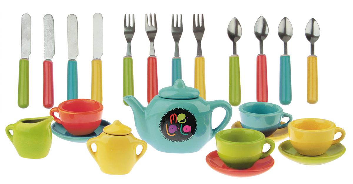 MeLaLa Игровой набор посуды Званый ужин - Сюжетно-ролевые игрушки