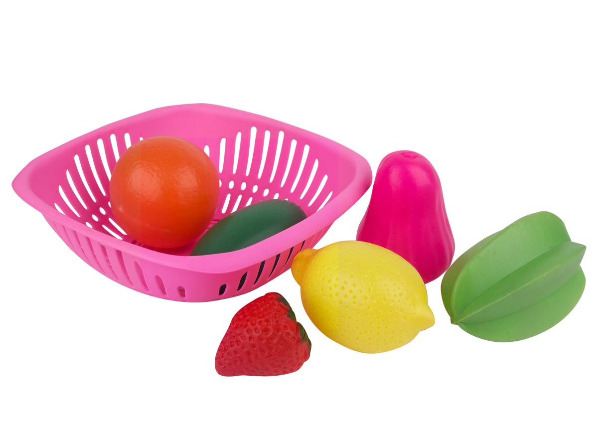 EstaBella Игровой набор Овощи и фрукты 7 элементов