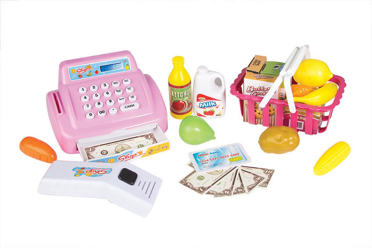 EstaBella Игровой набор Касса супермаркета с набором товаров