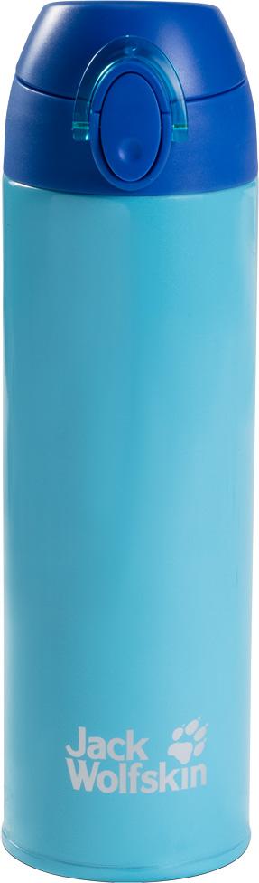 Термос Jack Wolfskin Thermolite Bottle 0,5, цвет: голубой, 0,5 л. 8006041-11038006041-1103Легкий термос с двойными стенками и эргономичным горлышком. Термос Jack Wolfskin Thermolite Bottle сохранит ваш чай горячим целый день. И вам даже не понадобится брать с собой кружку. Поскольку у термоса имеется удобное горлышко, из которого можно пить. Конструкция из двух стенок имеет минимальный вес и сохраняет нужную температуру вашего любимого напитка. Благодаря такой конструкции, термос очень легко мыть.Объем: 500 мл.