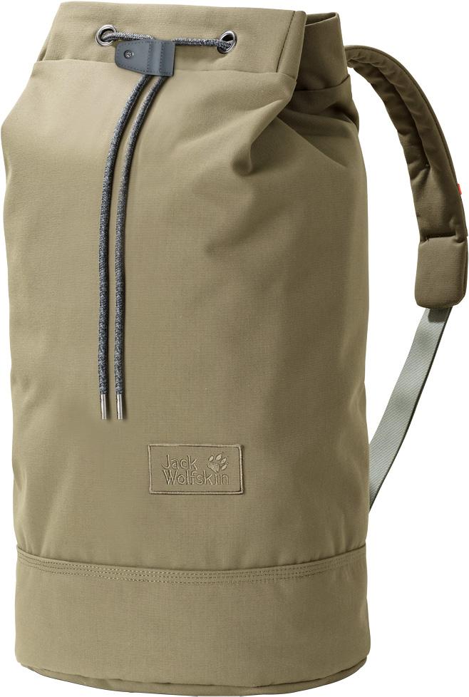 Рюкзак Jack Wolfskin On The Fly 35, цвет: светло-оливковый, 35 л. 2005461-50332005461-5033Рюкзак Jack Wolfskin On The Fly 35 - прочная сумка в стиле вещевой мешок для коротких поездок. Классический вещевой мешок - самое простое решение проблемы упаковки багажа. В дополнение к очень мягкому ремню через плечо и смягчающей подушке задней стенки, в рюкзаке имеются также внутреннее и практичное потайное отделения. Рюкзак закрывается на внутренний откидной клапан и затяжной шнур.Объем: 35 л.