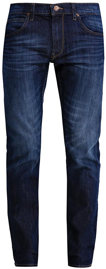 Джинсы мужские Lee Daren Zip Fly, цвет: темно-синий. L707ACIV. Размер 36-36 (52-36)L707ACIVМужские джинсы Lee Daren Zip Fly выполнены из высококачественного хлопка с добавлением эластомультиэстера. Прямые джинсы стандартной посадки застегиваются на пуговицу в поясе и ширинку на застежке-молнии, дополнены шлевками для ремня. Джинсы имеют классический пятикарманный крой: спереди модель дополнена двумя втачными карманами и одним маленьким накладным кармашком, а сзади - двумя накладными карманами. Джинсы украшены декоративными потертостями.