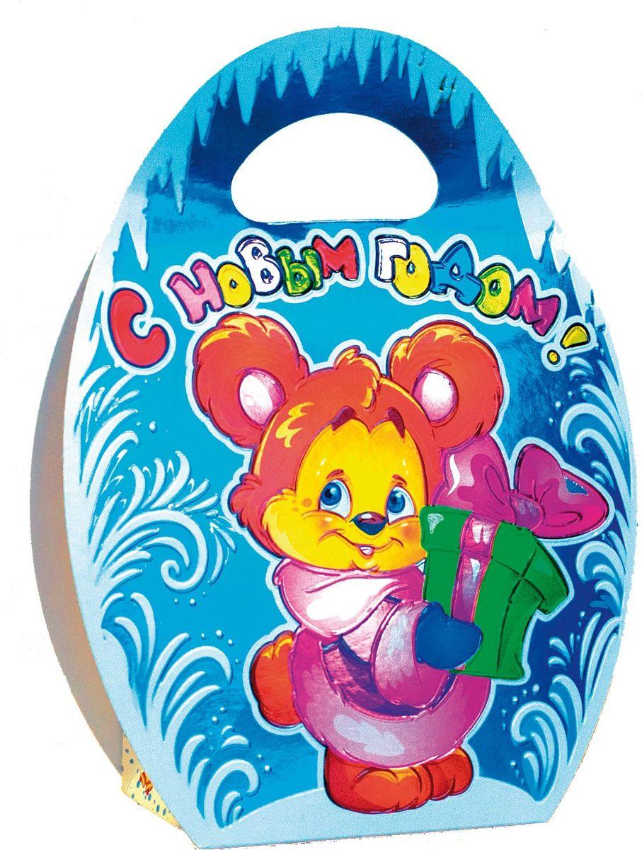 Сладкий новогодний подарок Мишка, 300 г подарок малыша