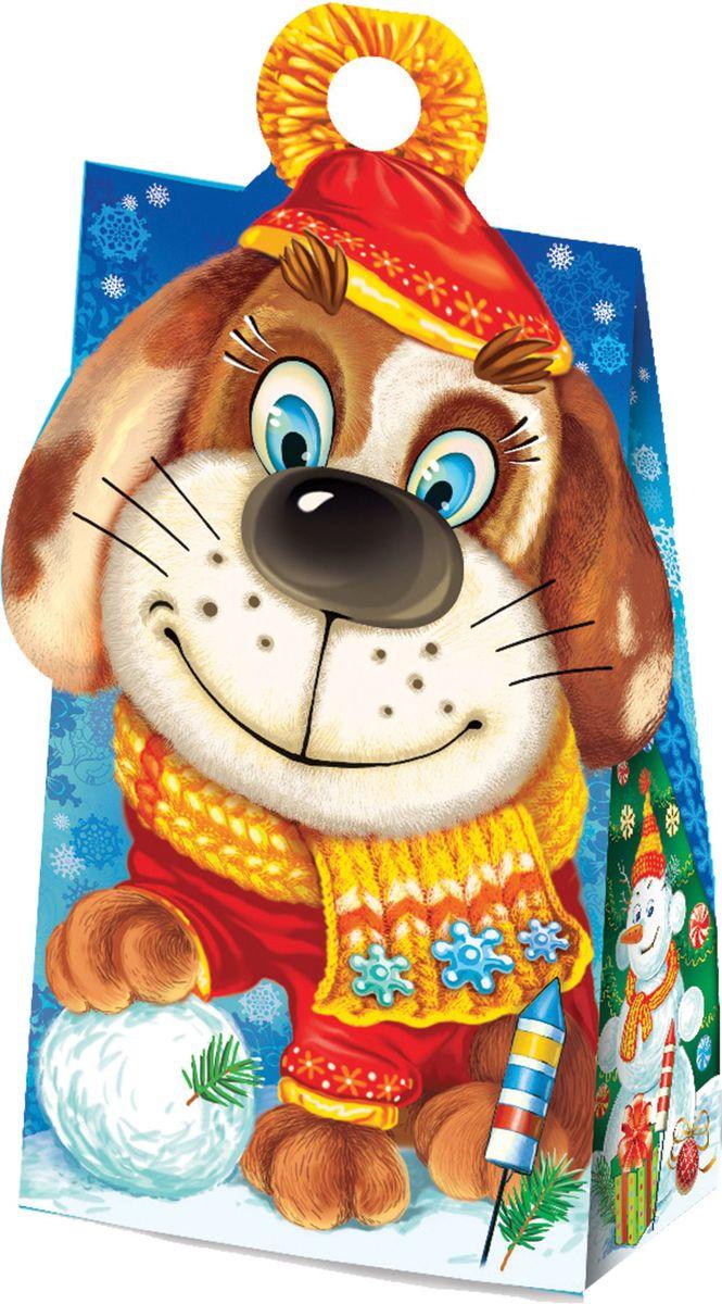 Сладкий новогодний подарок Символ, 400 г1532Новогодние подарки в картонной упаковке считаются самыми популярными для поздравления детей в детских садах и школах, и с каждым годом остаются лидерами продаж. Сладкий Новогодний подарок  Символ  400 гр. очарует любого малыша своей яркой, разноцветной упаковкой, а прекрасно подобранный состав кондитерских изделий от самых известных производителей позволит в полной мере насладиться праздником. Прекрасный вариант поздравления детей на утренниках в детских садах и школах.Уважаемые клиенты! Обращаем ваше внимание на возможные изменения в дизайне упаковки. Качественные характеристики товара остаются неизменными. Поставка осуществляется в зависимости от наличия на складе.