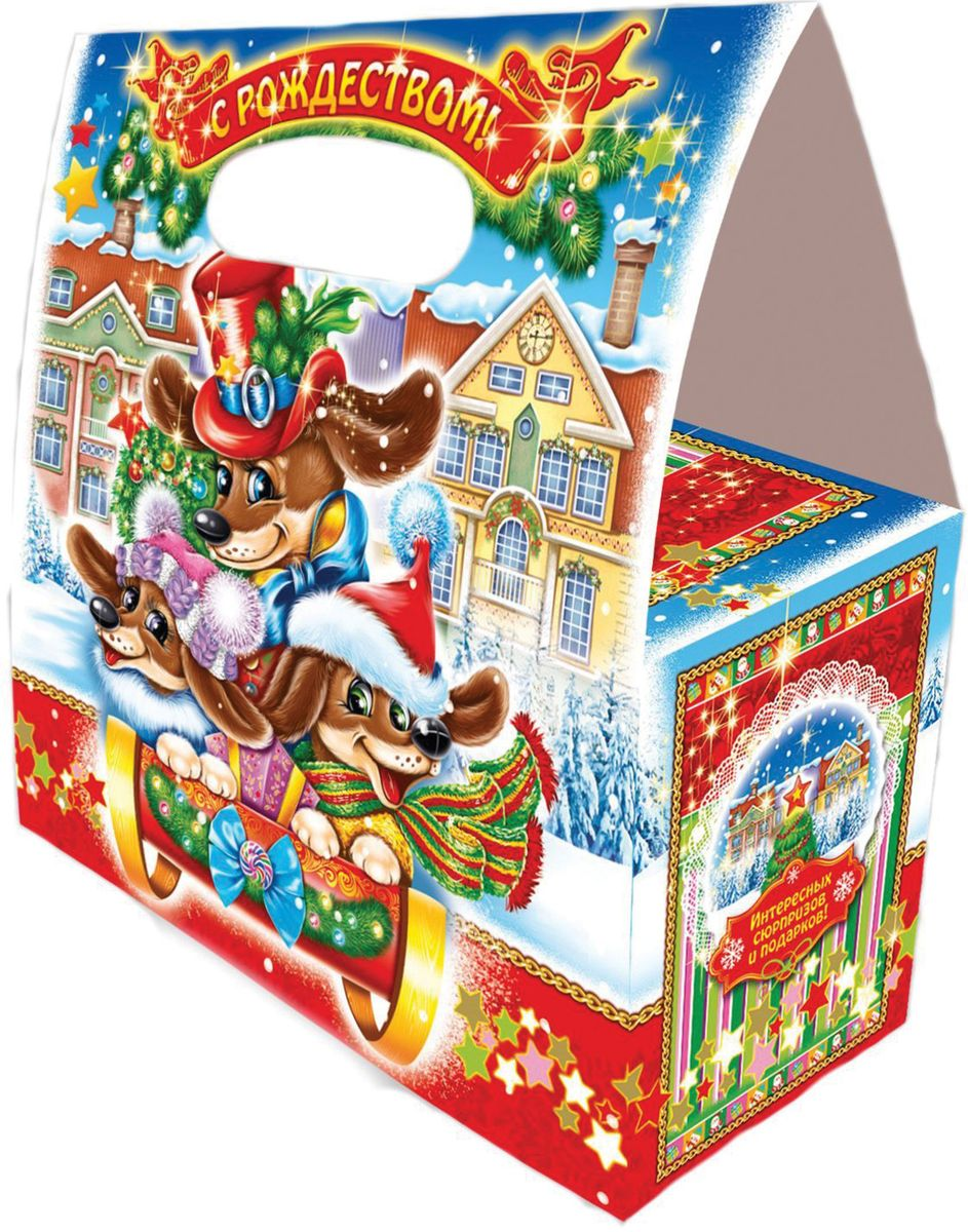 Сладкий новогодний подарок Приключения Таксы, 400 г1541Новогодние подарки в картонной упаковке считаются самыми популярными для поздравления детей в детских садах и школах, и с каждым годом остаются лидерами продаж. Сладкий Новогодний подарок  Приключения таксы  400 гр. очарует любого малыша своей яркой, разноцветной упаковкой, а прекрасно подобранный состав кондитерских изделий от самых известных производителей позволит в полной мере насладиться праздником. Прекрасный вариант поздравления детей на утренниках в детских садах и школах.Уважаемые клиенты! Обращаем ваше внимание на возможные изменения в дизайне упаковки. Качественные характеристики товара остаются неизменными. Поставка осуществляется в зависимости от наличия на складе.