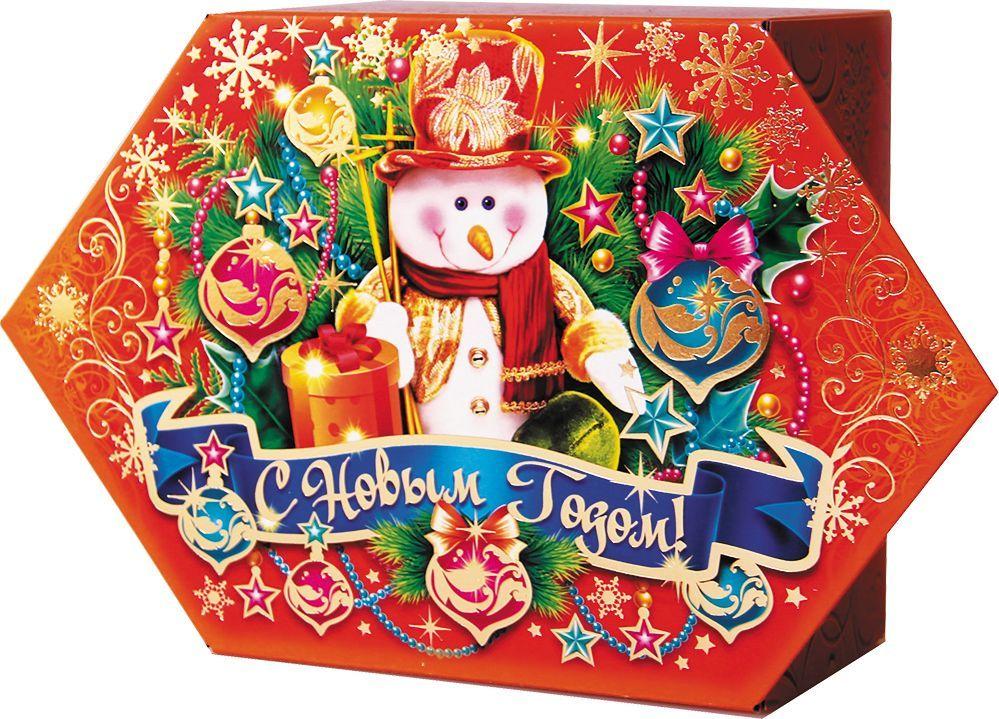 Сладкий новогодний подарок Конфета вкусняшки (Красный), 600 г1550Новогодние подарки в картонной упаковке считаются самыми популярными для поздравления детей в детских садах и школах, и с каждым годом остаются лидерами продаж. Сладкий Новогодний подарок  Конфета вкусняшки  200 гр. очарует любого малыша своей яркой,
