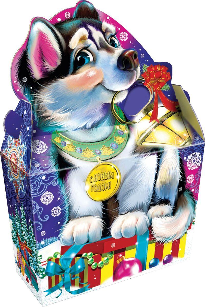 Сладкий новогодний подарок Лайка, 1000 г подарок малыша
