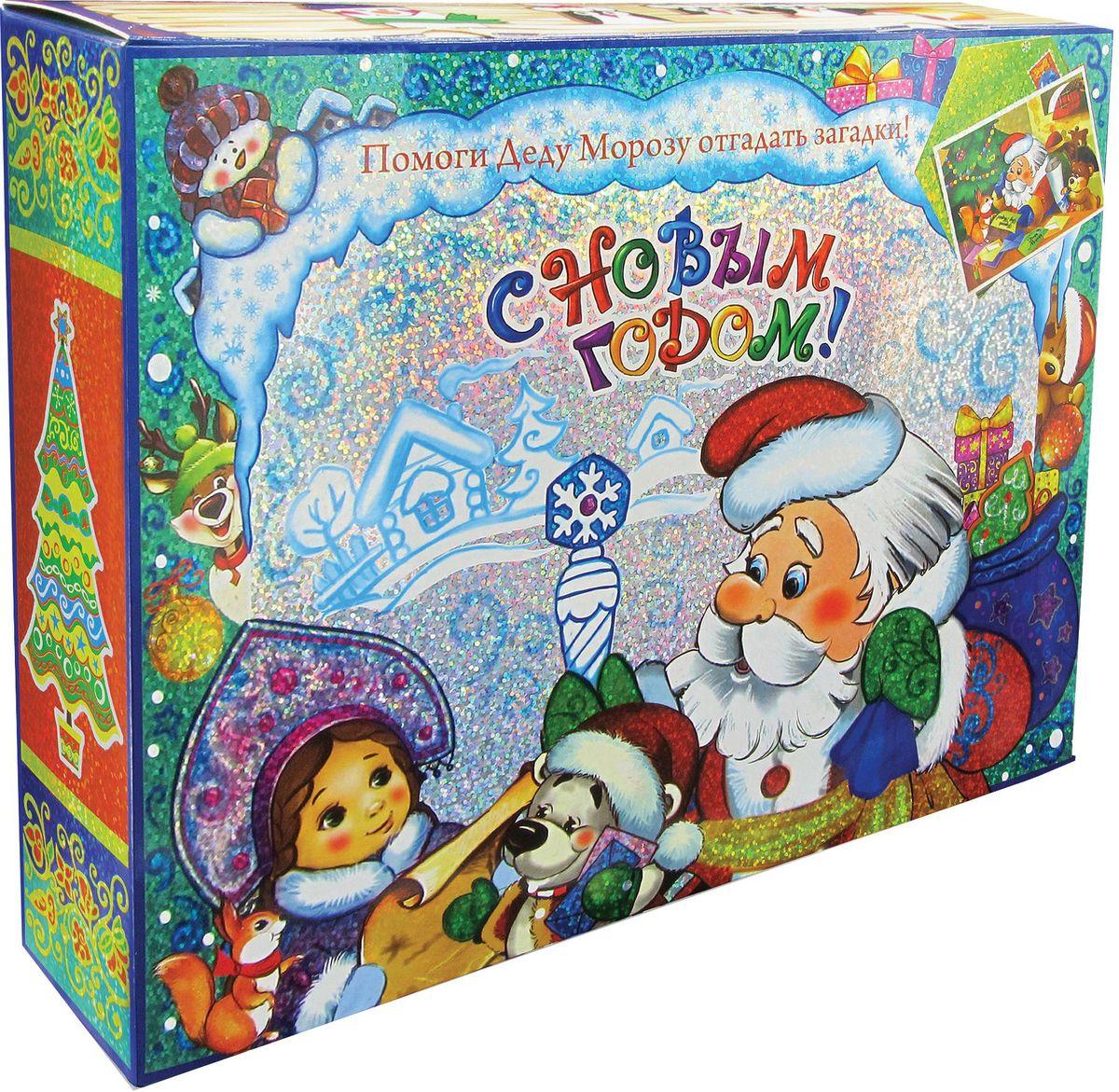 Сладкий новогодний подарок Книга Новогоднее приключение, 1000 г1557Новогодние подарки в картонной упаковке считаются самыми популярными для поздравления детей в детских садах и школах, и с каждым годом остаются лидерами продаж. Сладкий Новогодний подарок  Новогоднее приключение  1000 гр. очарует любого малыша своей яркой, разноцветной упаковкой, а прекрасно подобранный состав кондитерских изделий от самых известных производителей позволит в полной мере насладиться праздником. В подарок входит настольная игра. Прекрасный вариант поздравления детей на утренниках в детских садах и школах.Уважаемые клиенты! Обращаем ваше внимание на возможные изменения в дизайне упаковки. Качественные характеристики товара остаются неизменными. Поставка осуществляется в зависимости от наличия на складе.