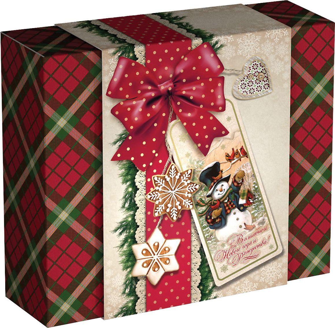 Сладкий новогодний подарок Волшебного Нового года, 400 г1560Новогодние подарки в картонной упаковке считаются самыми популярными для поздравления детей в детских садах и школах, и с каждым годом остаются лидерами продаж. Сладкий Новогодний подарок  Волшебного Нового Года  400 гр. очарует любого малыша своей