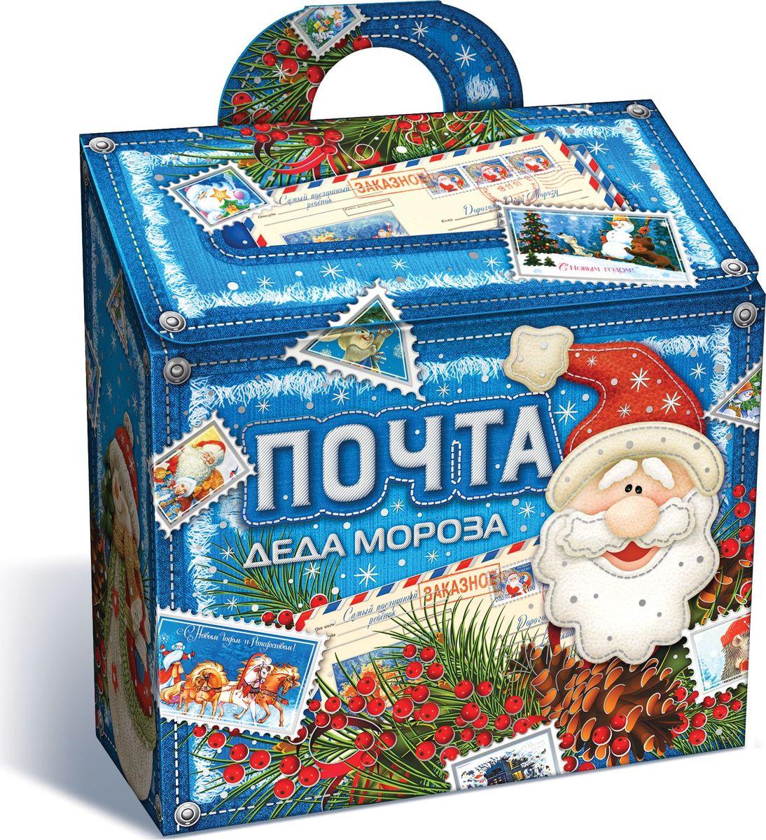 Сладкий новогодний подарок Джинсовая почта, 600 г1564Новогодние подарки в картонной упаковке считаются самыми популярными для поздравления детей в детских садах и школах, и с каждым годом остаются лидерами продаж. Сладкий Новогодний подарок  Джинсовая почта  600 гр. очарует любого малыша своей яркой, разноцветной упаковкой, а прекрасно подобранный состав кондитерских изделий от самых известных производителей позволит в полной мере насладиться праздником. Прекрасный вариант поздравления детей на утренниках в детских садах и школах.Уважаемые клиенты! Обращаем ваше внимание на возможные изменения в дизайне упаковки. Качественные характеристики товара остаются неизменными. Поставка осуществляется в зависимости от наличия на складе.