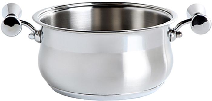 Кастрюля Inoxpran Prama Helen Collection, с двумя ручками, 3,3 л, диаметр: 24 см5751204Кастрюля  Helen Collection изготовлена из высококачественной нержавеющей стали. Многослойное термоаккумулирующее дно кастрюли обеспечивает наилучшее распределение тепла. Кастрюля подходит для газовых, электрических, стеклокерамических и индукционных плит и пригодна для мытья в посудомоечной машине. Кастрюля  Helen Collection выполнена со вкусом и любовью итальянских мастеров к еде и красоте.