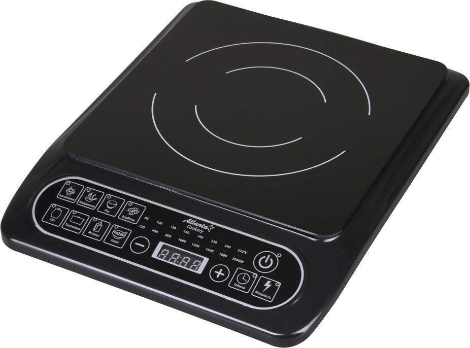 Atlanta ATH-1751, Black плита индукционная - Плиты