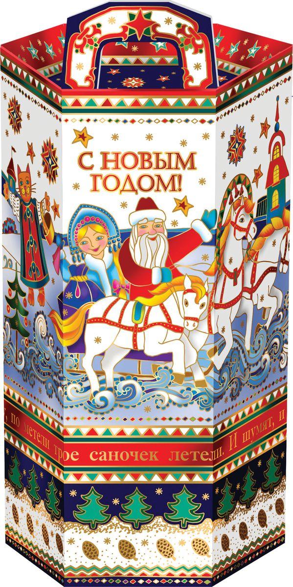 Сладкий новогодний подарок Тубус-Лубок, 800 г1567Новогодние подарки в картонной упаковке считаются самыми популярными для поздравления детей в детских садах и школах, и с каждым годом остаются лидерами продаж. Сладкий Новогодний подарок  Тубус Лубок  800 гр. очарует любого малыша своей яркой,
