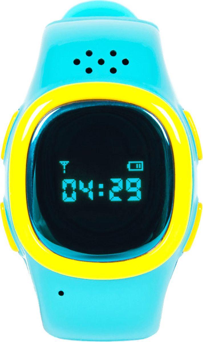 EnBe Children Watch 2 умные детские часы с GPS трекером, Blue