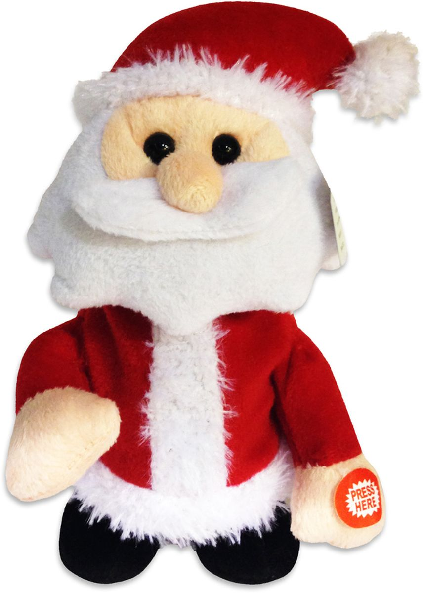 все цены на Lapa House Мягкая озвученная игрушка Санта 20 см