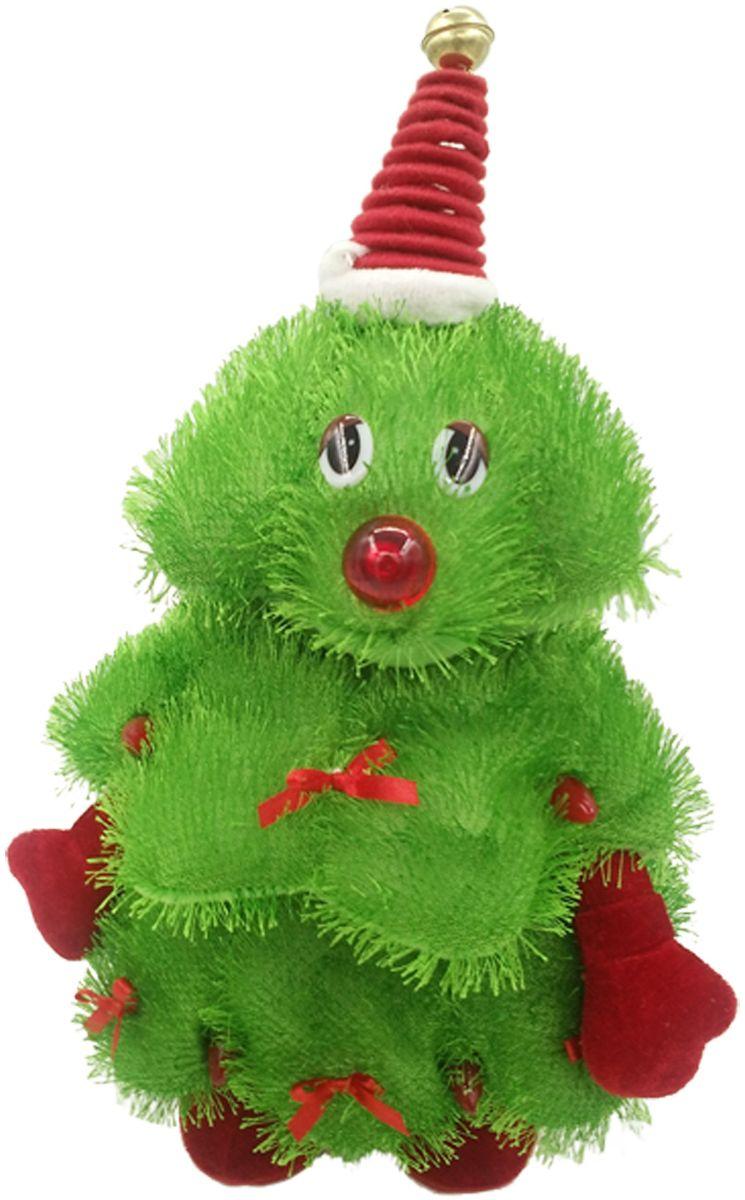 Lapa House Мягкая озвученная игрушка Елка 30 см - Мягкие игрушки