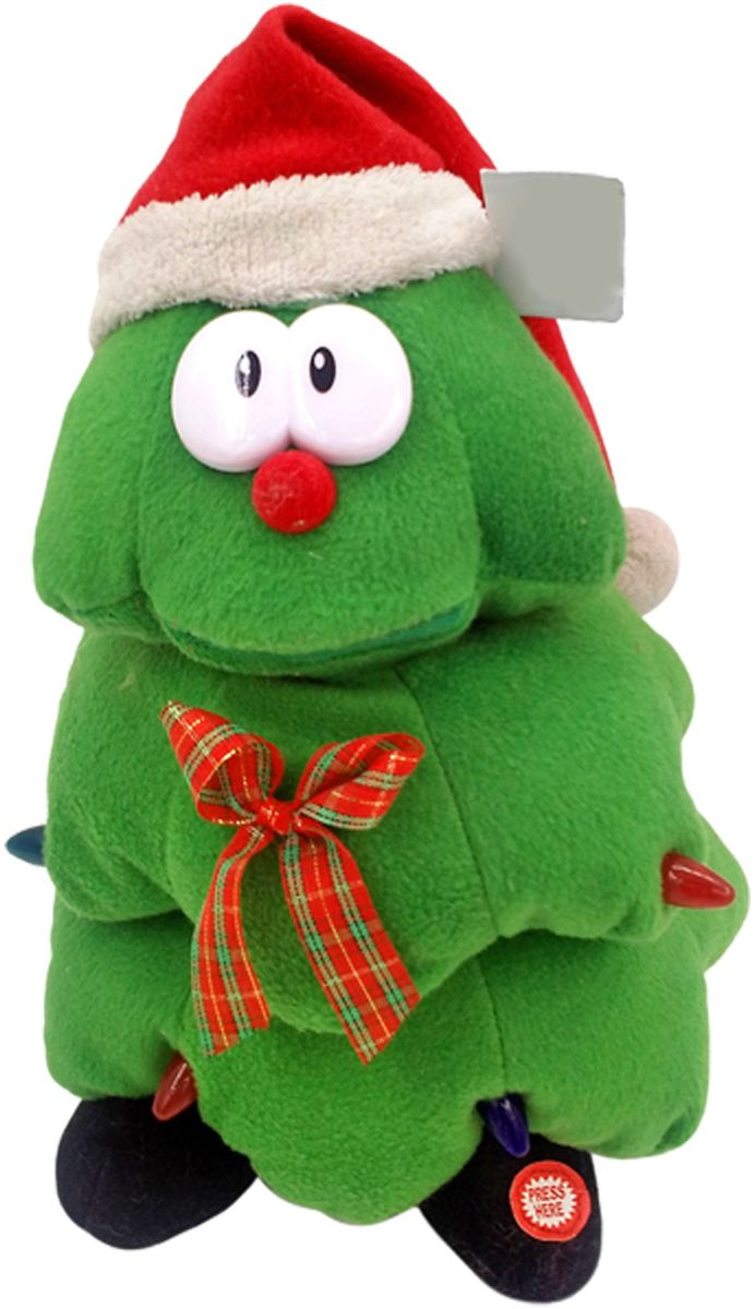 Lapa House Мягкая озвученная игрушка Елка в колпаке 25 см - Мягкие игрушки