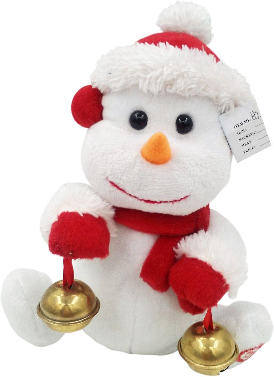 Lapa House Мягкая озвученная игрушка Снеговик Джек 18,5 см мягкая игрушка арти м 29 см снеговик 861 002