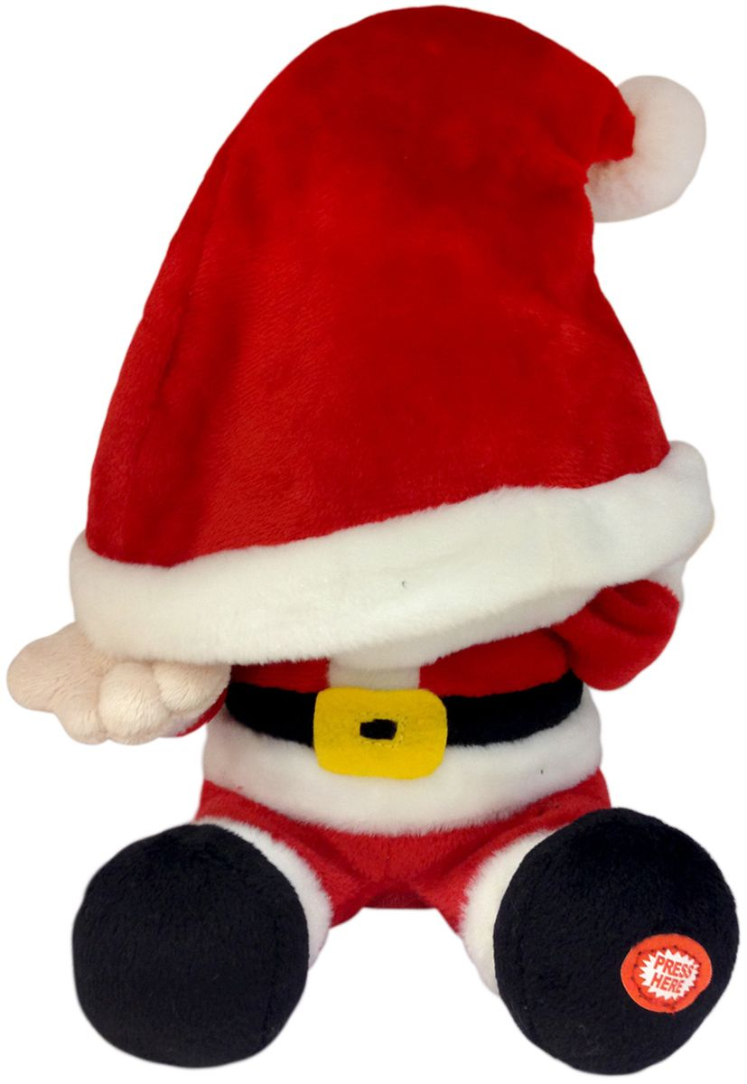 Lapa House Мягкая озвученная игрушка Санта 35 см plush apple мягкая озвученная игрушка монстр салли 35 см