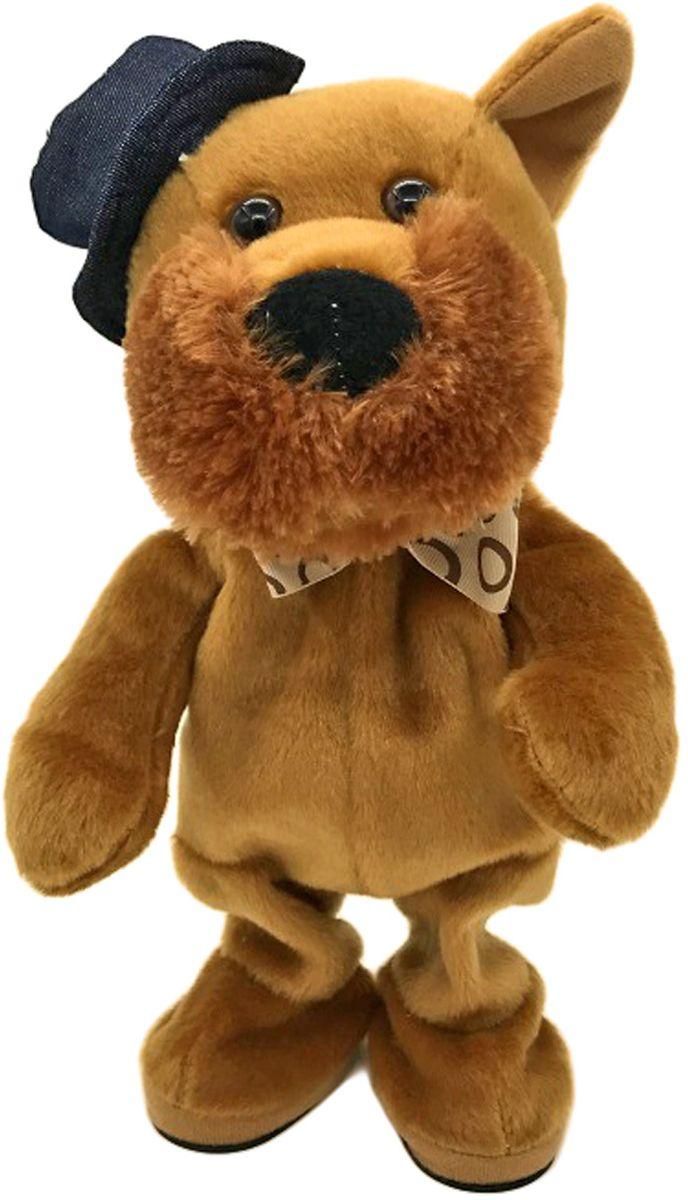 Lapa House Мягкая озвученная игрушка Собачка 32 см малышарики мягкая игрушка собака бассет хаунд 23 см