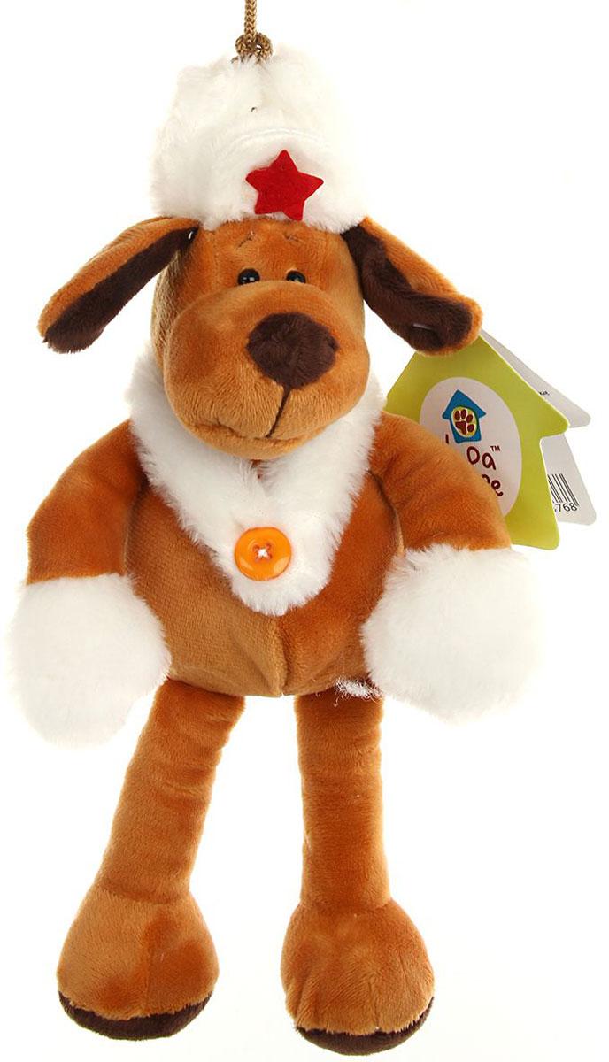 Lapa House Мягкая игрушка Собачка 16 см 53344 малышарики мягкая игрушка собака бассет хаунд 23 см