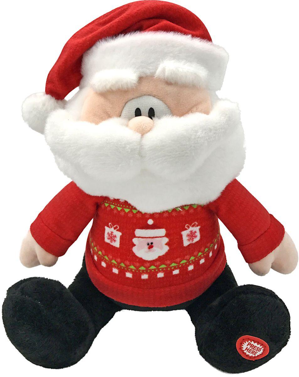 все цены на Lapa House Мягкая озвученная игрушка Санта 25 см