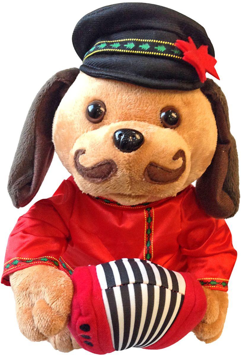 Lapa House Мягкая озвученная игрушка Собачка 29 см малышарики мягкая игрушка собака бассет хаунд 23 см