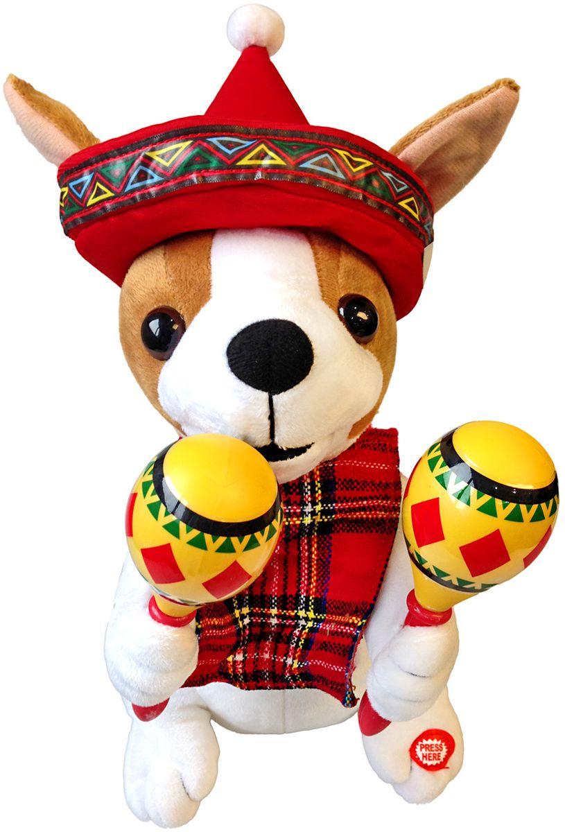 цена на Lapa House Мягкая озвученная игрушка Собачка 30 см 56140