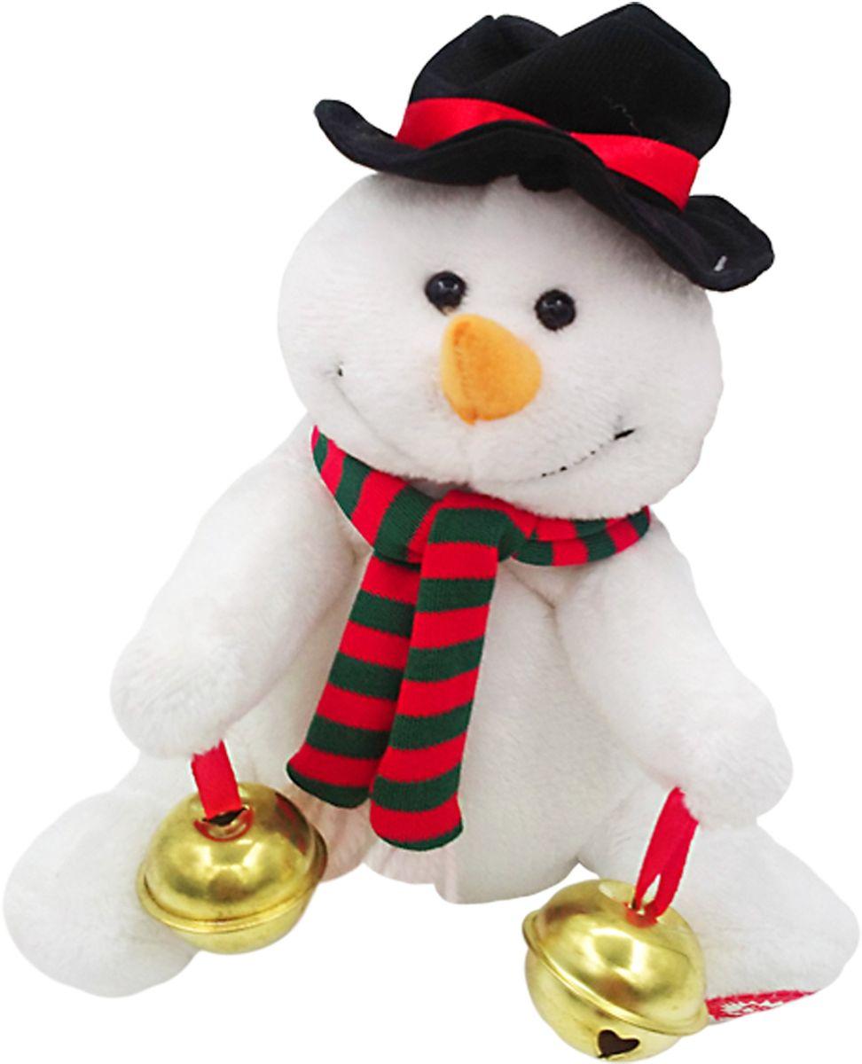 Lapa House Мягкая озвученная игрушка Снеговик Джо 15,5 см