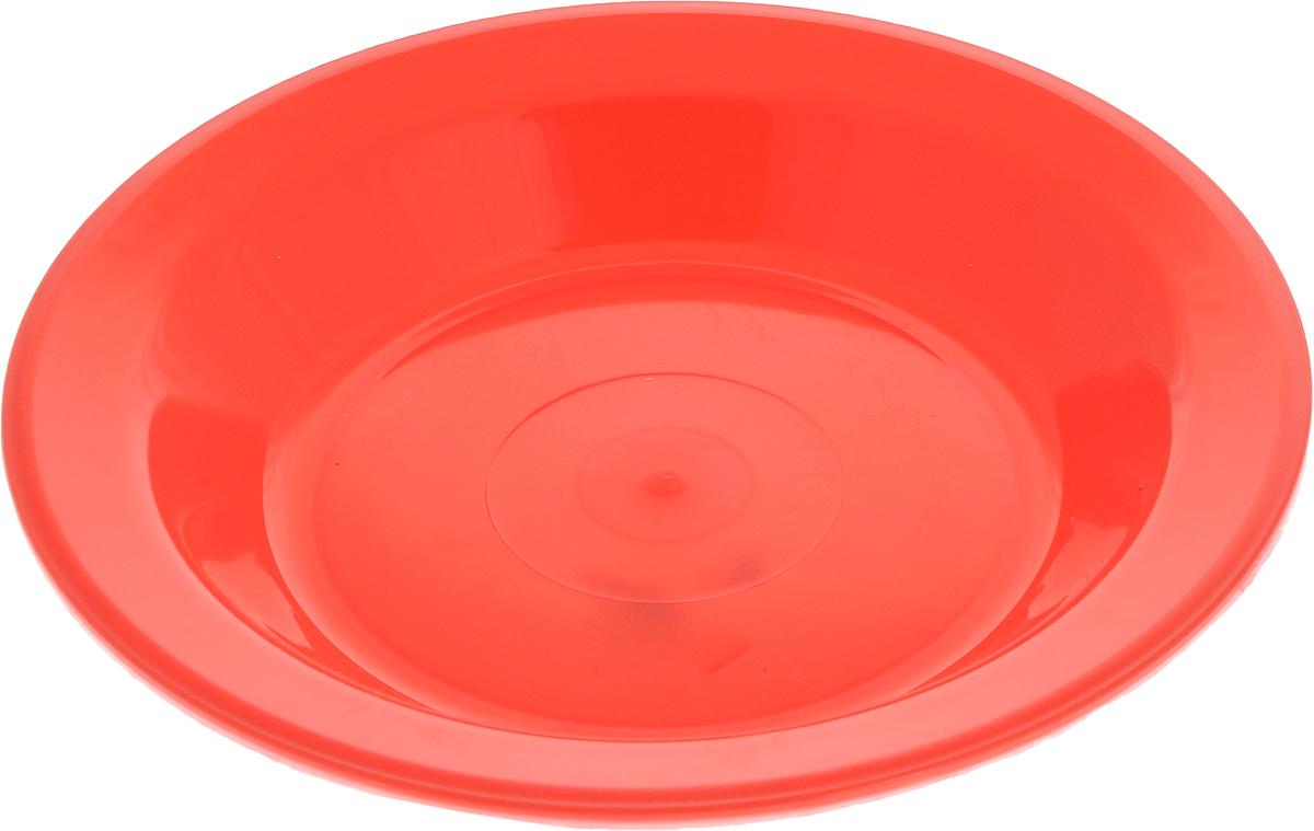 Тарелка Gotoff, цвет: красный, диаметр 21 смWTC-803_красныйТарелка Gotoff изготовлена из цветного пищевого пластика и предназначена для холодной и горячей пищи. Выдерживает температурный режим в пределах от -25°С до +110°C. Посуду из пластика можно использовать в микроволновой печи, но необходимо, чтобы нагрев не превышал максимально допустимую температуру. Удобная, легкая и практичная посуда для пикника и дачи поможет сервировать стол без хлопот!Диаметр тарелки (по верхнему краю): 21 см. Высота тарелки: 3 см.