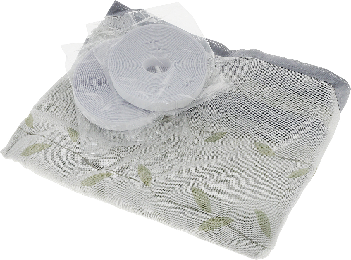 Сетка-штора противомоскитная Help, на дверь, с магнитным замком, с крепежной лентой, 45 х 210 см, 2 шт80006Москитная сетка-штора Help, выполненная из полиэстера и декорированная оригинальным рисунком, предназначена для защиты помещения от проникновения летающих насекомых, а также служит фильтром от попадания в помещение пыли и пуха. Идеально подходит для любых типов дверей. Устойчива к ультрафиолетовым лучам.Установка занимает несколько минут, благодаря крепежной нейлоновой ленте с клеевой основой. При снятии ленты на поверхности не остается следов клея. При правильном использовании москитная сетка прослужит вам долгое время.