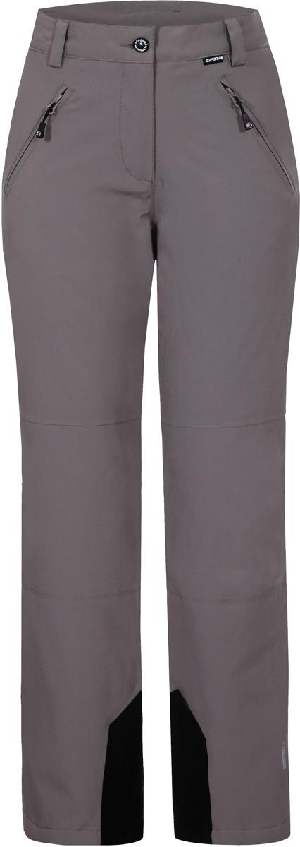 Брюки женские Icepeak, цвет: серый. 854015839IV_080. Размер 42 (48)