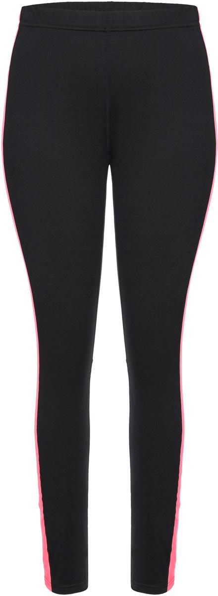 Леггинсы женские Icepeak, цвет: черный, розовый. 854013584IV_999. Размер 40 (46)854013584IV_999Леггинсы от Icepeak выполнены из высококачественного эластичного материала. Модель облегающего кроя с эластичной резинкой на талии.