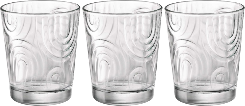 Набор стаканов Bormioli Rocco Арчес Вода , цвет: прозрачный, 3 шт. 530320Q02021990530320Q02021990