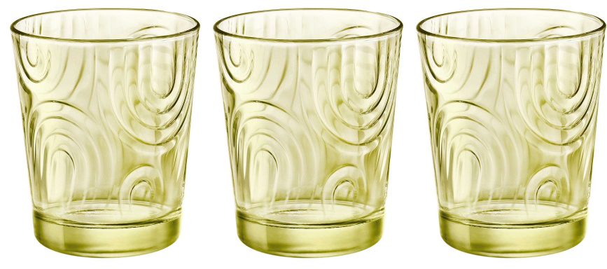 Набор стаканов Bormioli Rocco Арчес Вода , цвет: желтый, 3 шт. 530323Q02321990530323Q02321990