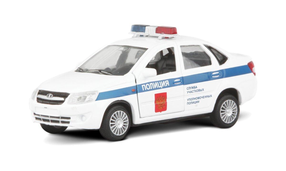 Autotime Модель автомобиля Lada Granta Полиция autotime модель автомобиля uaz 39625 дорожные работы