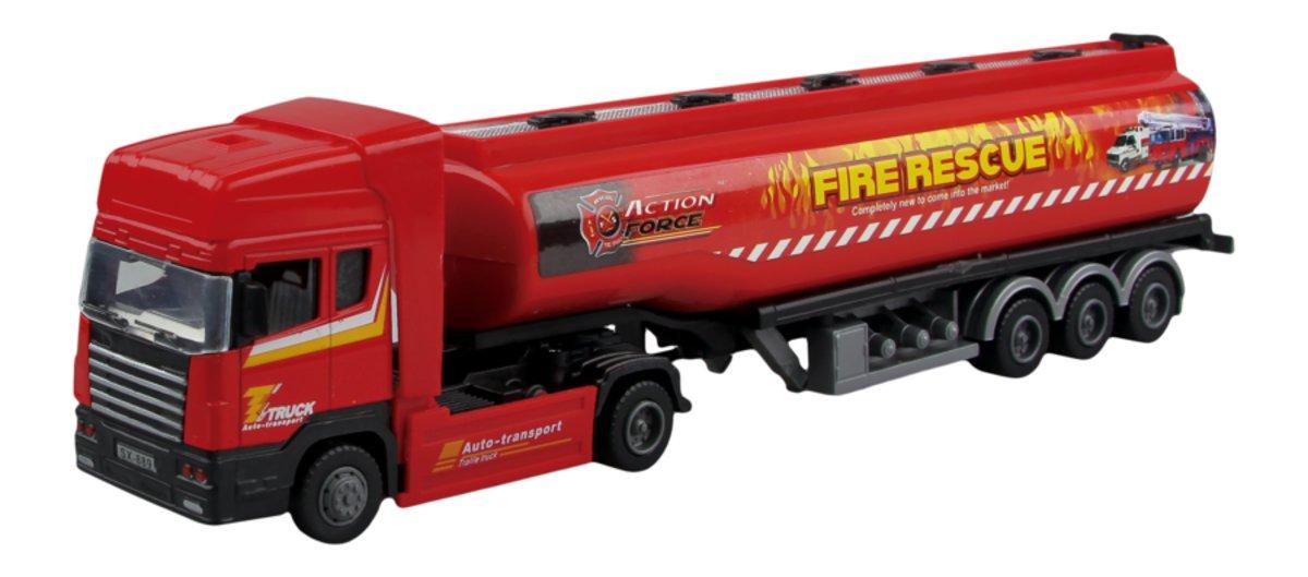 Autotime Бензовоз Tanker Truck autotime набор машинок recovery truck long эвакуатор с прицепом
