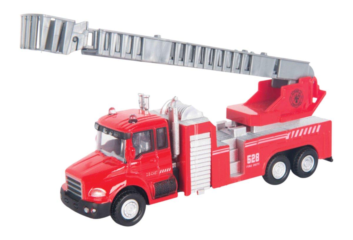 Autotime Пожарная машина с лестницей Fire Liquidator Truck машинки autotime машина uaz 31514 ваи