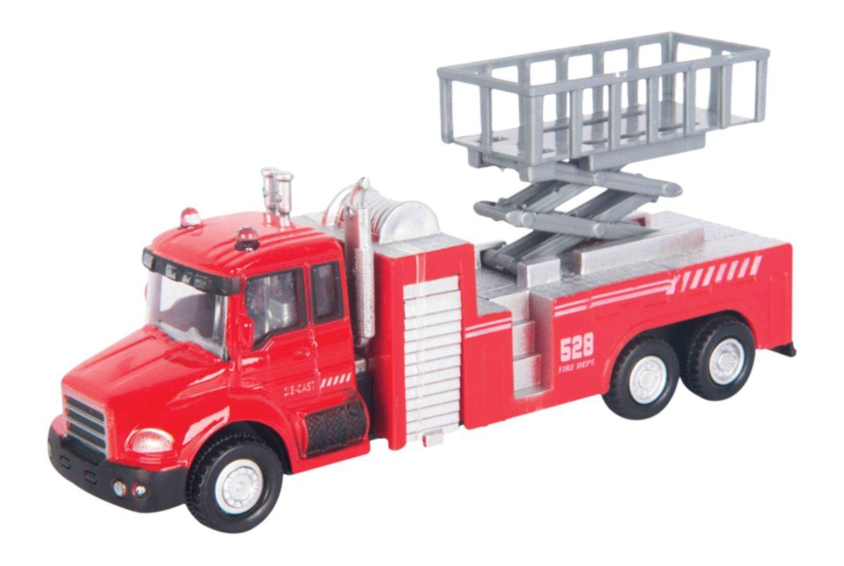 Autotime Пожарная машина с подъемником Lift Fire Truck машинки autotime машина uaz 31514 ваи