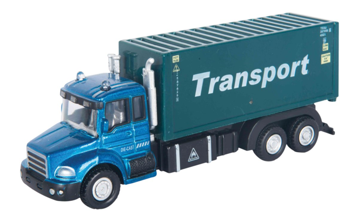 Autotime Машинка TranSport Truck Контейнеровоз autotime набор машинок recovery truck long эвакуатор с прицепом