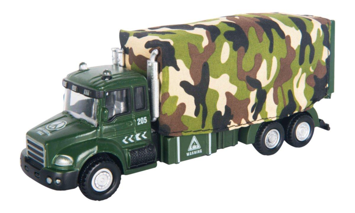 Autotime Машинка Military Truck с тентом машина autotime imperial truck series 65137