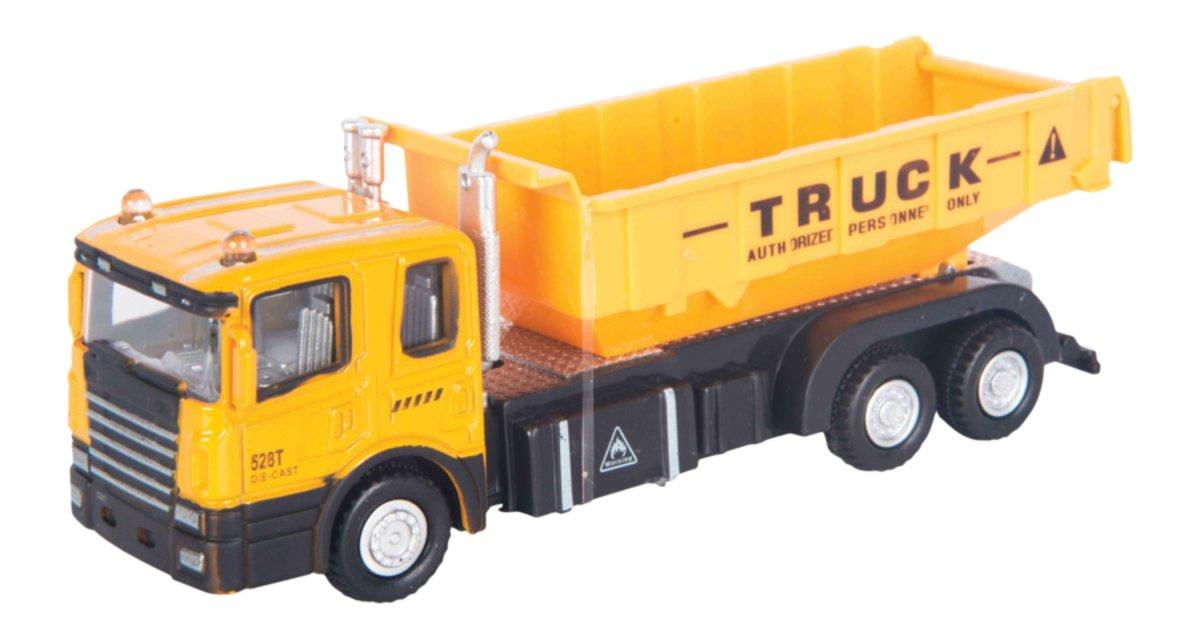 Autotime Строительный самосвал Construction Truck autotime набор машинок recovery truck long эвакуатор с прицепом