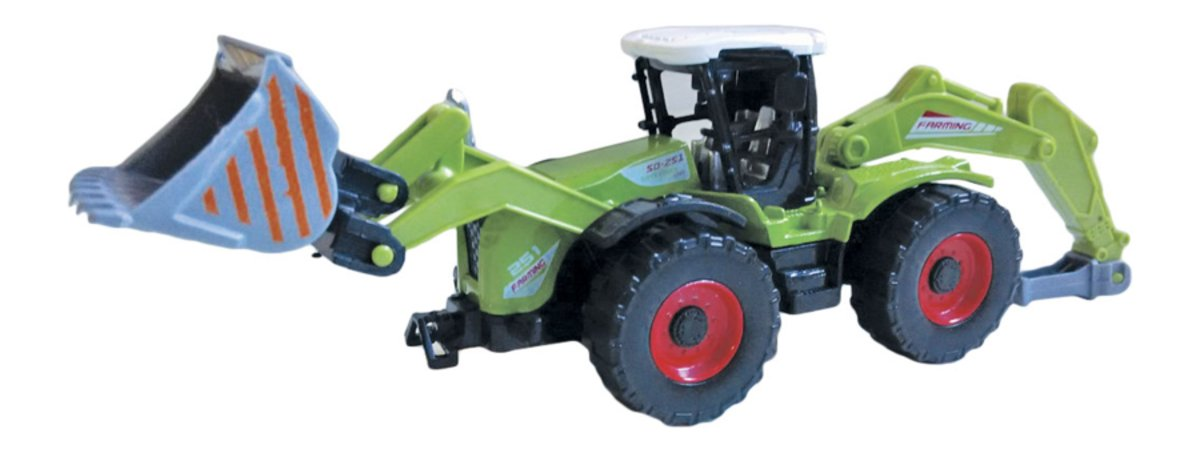 Autotime Машинка Farm Bulldozer с навесным оборудованием машина autotime imperial truck series 65137