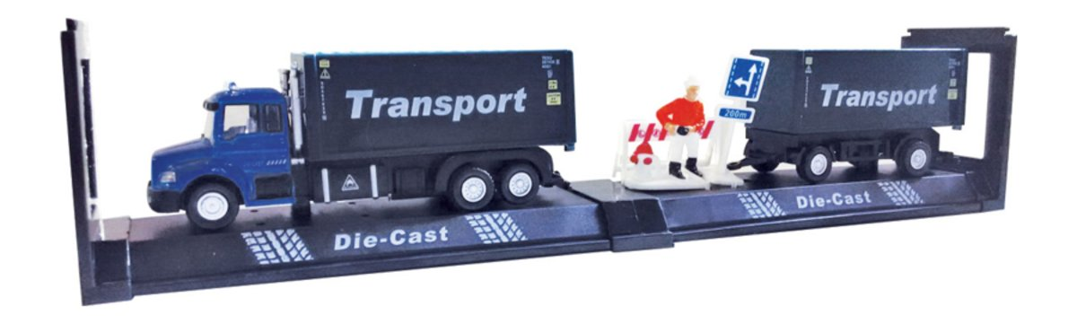 Autotime Машинка с прицепом Highway Truck Set autotime набор машинок recovery truck long эвакуатор с прицепом
