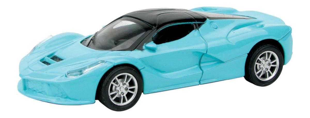 Autotime Автомобиль Maranello Deluxe Car цвет голубой набор для сборки машинки s2 muscle car deluxe modarri