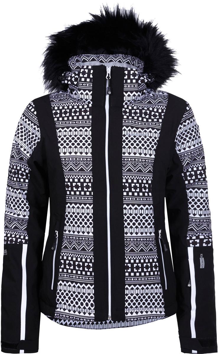 Куртка жен Icepeak, цвет: черный. 853115523IVX_990. Размер 42 (48)853115523IVX_990